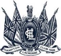 HAMPTON LACROSSE CLUB 1928 LE JEU DE LA CROSSE FINEST QUALITY GOODS HLC