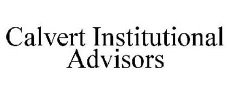 CALVERT INSTITUTIONAL ADVISORS