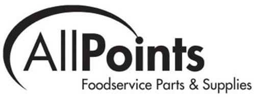 allpoints foodservice parts supplies trademark of allpoints
