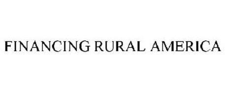 FINANCING RURAL AMERICA