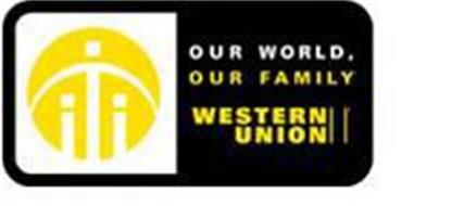 OUR WORLD, OUR FAMILY WESTERN UNION