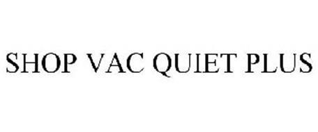 SHOP VAC QUIET PLUS