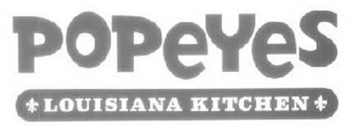 Popeyes Louisiana Kitchen Logo popeyes louisiana kitchen, inc. trademarks (63) from trademarkia