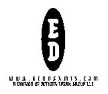 E D W W W . E C O D E R M I S . C O M A DIVISION OF ACTIONS SPEAK GROUP LLC