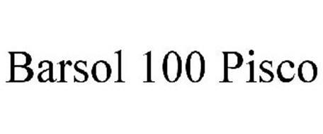 BARSOL 100 PISCO