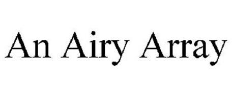 AN AIRY ARRAY