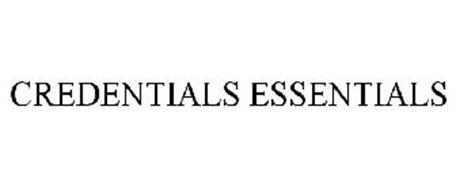 CREDENTIALS ESSENTIALS