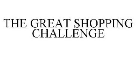 THE GREAT SHOPPING CHALLENGE