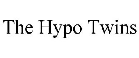 THE HYPO TWINS