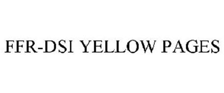FFR-DSI YELLOW PAGES