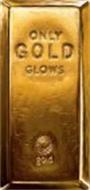 ONLY GOLD GLOWS GOLD