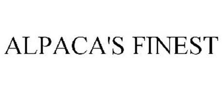 ALPACA'S FINEST