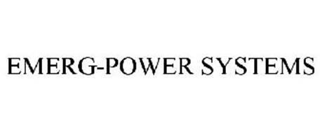 EMERG-POWER SYSTEMS