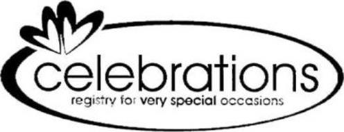 CELEBRATIONS REGISTRY FOR VERY SPECIAL OCCASIONS