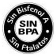 SIN BISFENOL A SIN BPA SIN FTALATOS