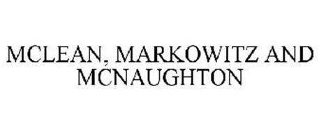 MCLEAN, MARKOWITZ AND MCNAUGHTON
