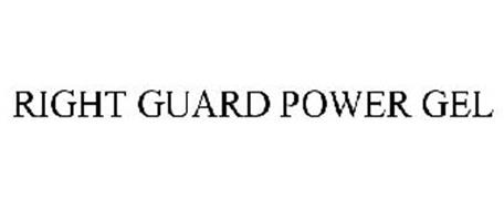 RIGHT GUARD POWER GEL