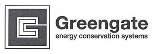 G GREENGATE ENERGY CONSERVATION SYSTEMS