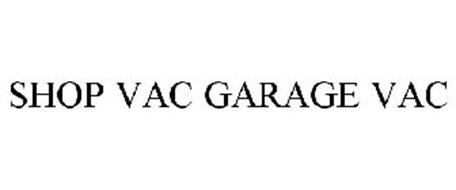 SHOP VAC GARAGE VAC