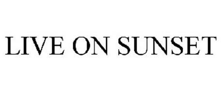 LIVE ON SUNSET