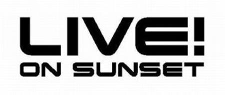LIVE! ON SUNSET