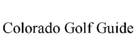 COLORADO GOLF GUIDE