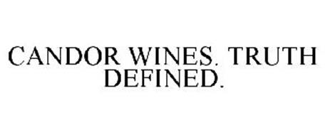 CANDOR WINES. TRUTH DEFINED.