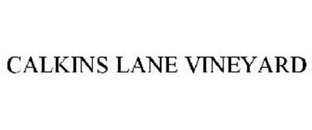 CALKINS LANE VINEYARD