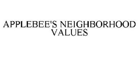 APPLEBEE'S NEIGHBORHOOD VALUES