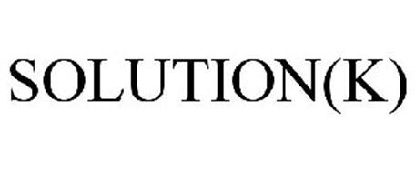SOLUTION(K)
