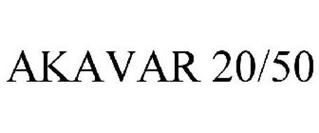 AKAVAR 20/50