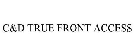C&D TRUE FRONT ACCESS