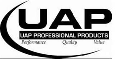UAP UAP PROFESSIONAL PRODUCTS PERFORMANCE QUALITY VALUE