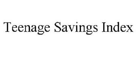 TEENAGE SAVINGS INDEX