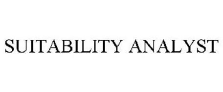 SUITABILITY ANALYST