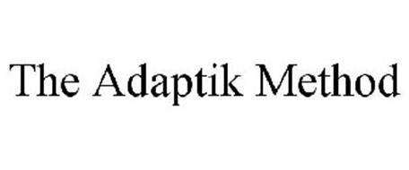 THE ADAPTIK METHOD