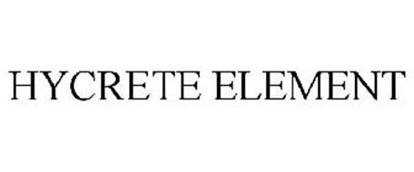 HYCRETE ELEMENT