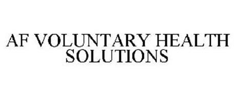 AF VOLUNTARY HEALTH SOLUTIONS