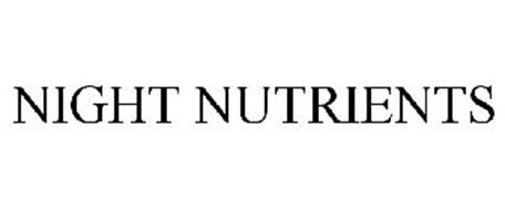 NIGHT NUTRIENTS
