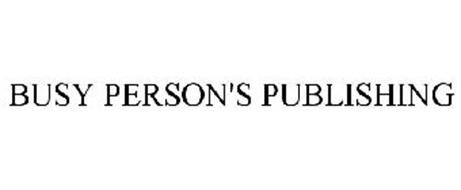 BUSY PERSON'S PUBLISHING