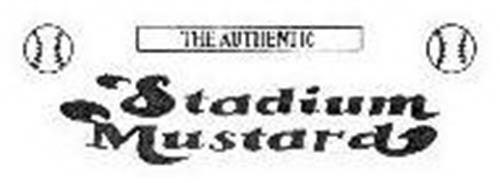 THE AUTHENTIC STADIUM MUSTARD
