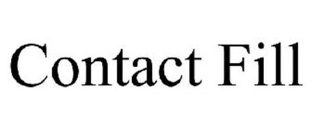 CONTACT FILL