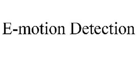 E-MOTION DETECTION