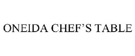 ONEIDA CHEF'S TABLE