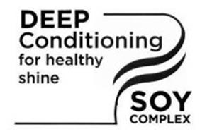 DEEP CONDITIONING FOR HEALTHY SHINE SOY COMPLEX SS