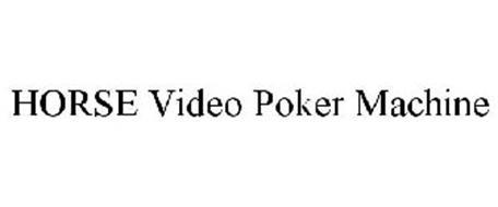 HORSE VIDEO POKER MACHINE