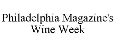 PHILADELPHIA MAGAZINE'S WINE WEEK
