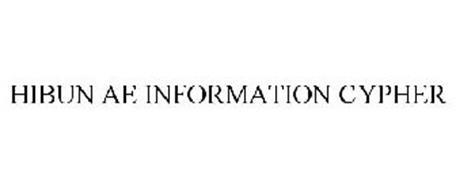 HIBUN AE INFORMATION CYPHER
