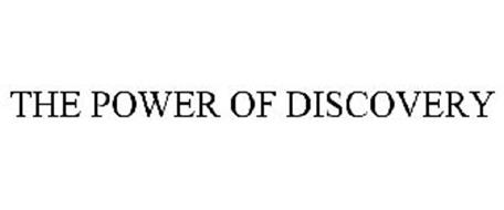 THE POWER OF DISCOVERY