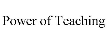 POWER OF TEACHING